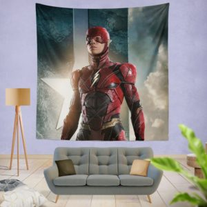 The Flash Justice League Wall Hanging Tapestry