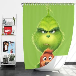 The Grinch Movie Shower Curtain