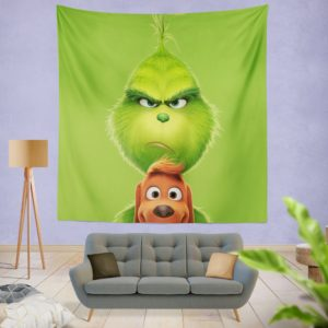 The Grinch Movie Wall Hanging Tapestry