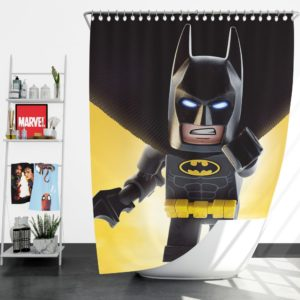 The Lego Batman Movie Shower Curtain