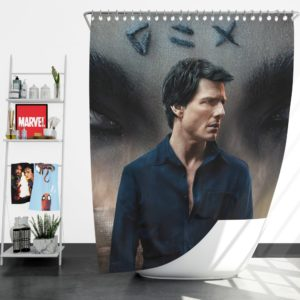 The Mummy Movie Tom Cruise Shower Curtain