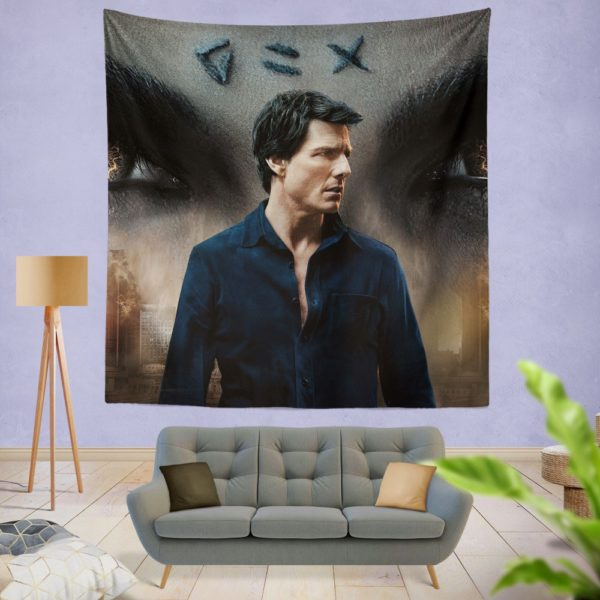 The Mummy Movie Tom Cruise Wall Hanging Tapestry