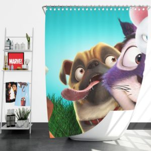 The Nut Job 2 Nutty By Nature Animation Film  Shower Curtain
