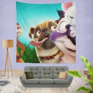 The Nut Job 2 Nutty By Nature Animation Film Wall Hanging Tapestry