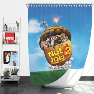 The Nut Job 2 Nutty By Nature Animation Movie Shower Curtain
