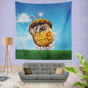 The Nut Job 2 Nutty By Nature Animation Movie Wall Hanging Tapestry