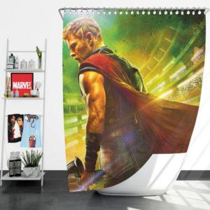 Thor Ragnarok Chris Hemsworth Shower Curtain