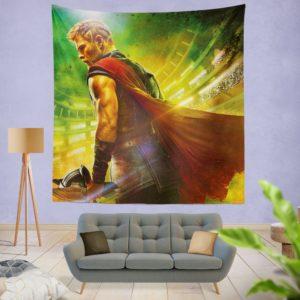 Thor Ragnarok Chris Hemsworth Wall Hanging Tapestry