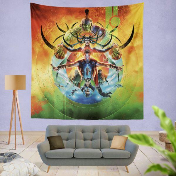 Thor Ragnarok Marvel Cinematic Universe's Wall Hanging Tapestry