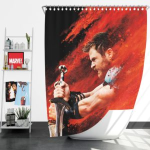 Thor Ragnarok Thor Chris Hemsworth Shower Curtain