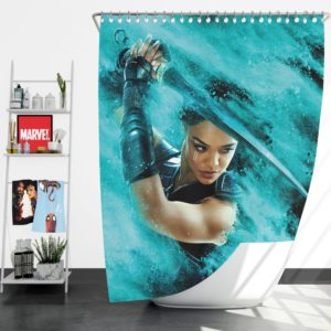 Thor Ragnarok Valkyrie Tessa Thompson Shower Curtain