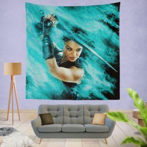 Thor Ragnarok Valkyrie Tessa Thompson Wall Hanging Tapestry