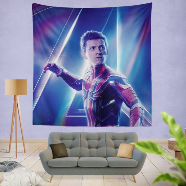 Tom Holland Peter Parker Spider Man Wall Hanging Tapestry