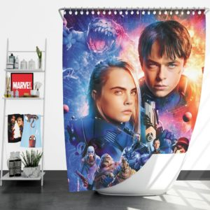 Valerian And The City Of A Thousand Planets Shower Curtain