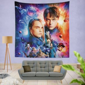 Valerian And The City Of A Thousand Planets Wall Hanging Tapestry