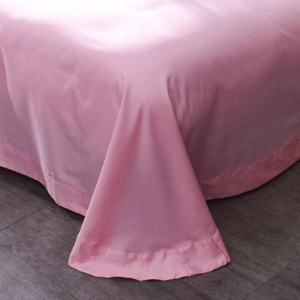 Victorias Secret Pink Embroidery Egyptian Cotton Bedding Set Model 4 8 600x600 - Victoria's Secret Pink Embroidery Egyptian Cotton Bedding Set - Model 4