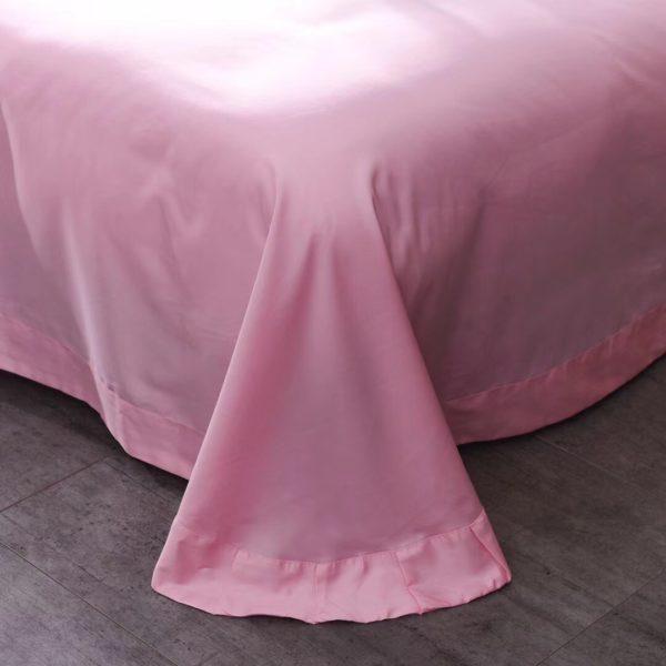 Victorias Secret Pink Embroidery Egyptian Cotton Bedding Set Model 4 8