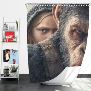 War For The Planet Of The Apes Shower Curtain
