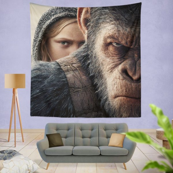 War For The Planet Of The Apes Wall Hanging Tapestry