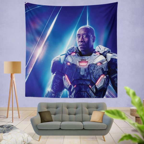War Machine Don Cheadle James Rhodes Wall Hanging Tapestry