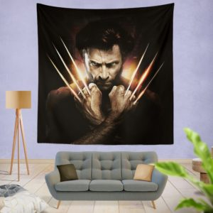 Wolwerine Hugh Jackman Wall Hanging Tapestry