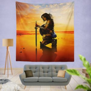 Wonder Women Gal Gadot Wall Hanging Tapestry