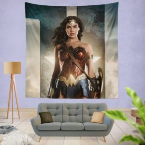 Wonder Women Justice League Wall Hanging Tapestry