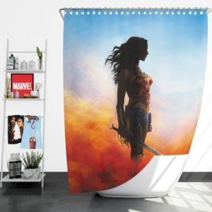 Wonder Women Teen Girls Shower Curtain