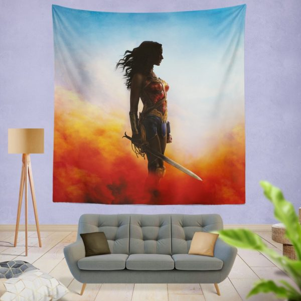 Wonder Women Teen Girls Wall Hanging Tapestry