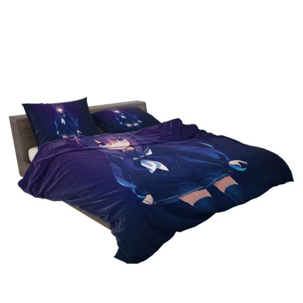 Anime Girl School Uniform Bedding Set 3