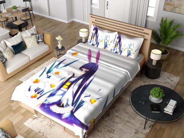 Anime Girl Violet Bedding Set 4