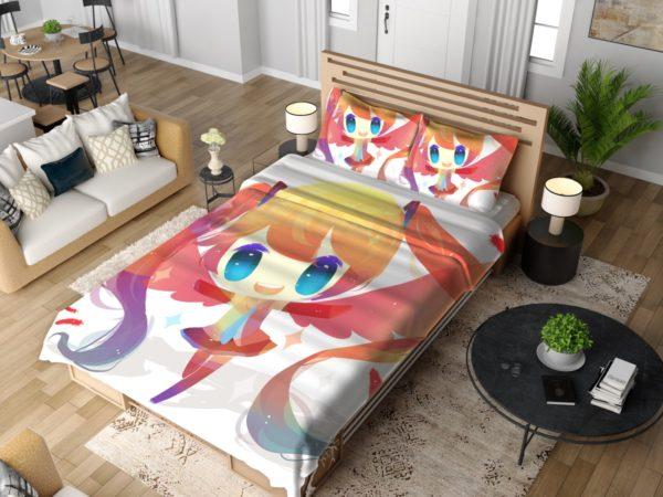 Anime Girl Vocaloid Bedding Set 4