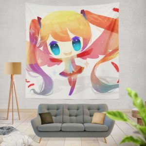 Anime Girl Vocaloid Wall Hanging Tapestry