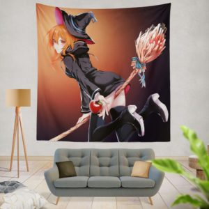 Anime Girl Wich Magic Teen Wall Hanging Tapestry