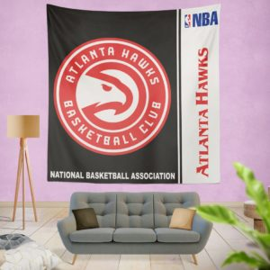 Atlanta Hawks NBA Basketball Bedroom Wall Hanging Tapestry