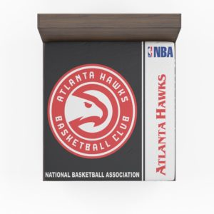 Atlanta Hawks NBA Basketball Fitted Sheet