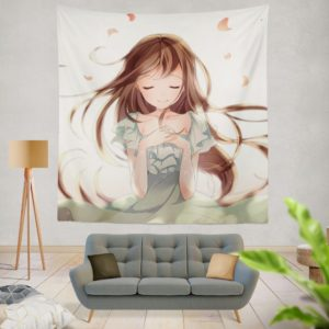 Beautiful Japanese Anime Girl Queen King Wall Hanging Tapestry