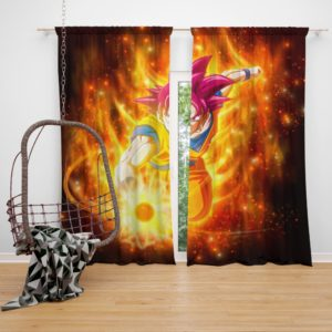 Beautiful Japanese Custom Anime Girl Bedroom Window Curtain