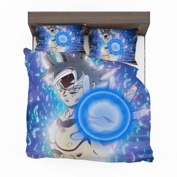 Blue Ultra Instinct Goku Teen Bedding Set 2