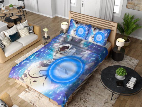 Blue Ultra Instinct Goku Teen Bedding Set 4