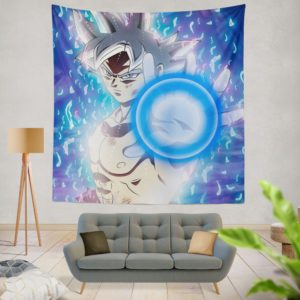Blue Ultra Instinct Goku Teen Wall Hanging Tapestry