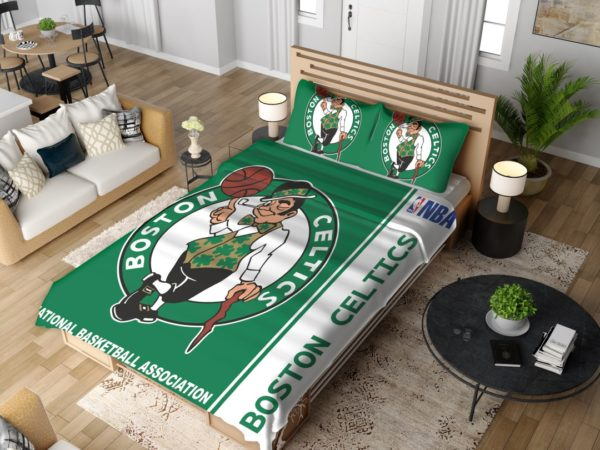 Boston Celtics NBA Basketball Bedding Set 4