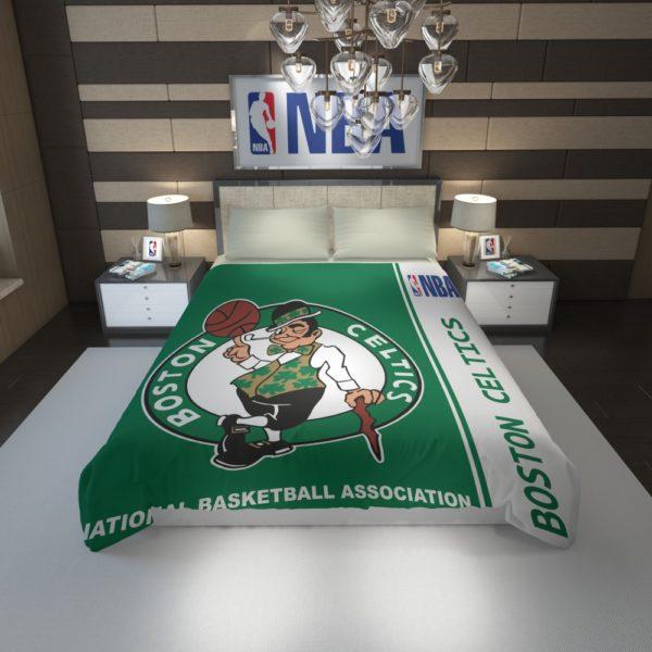 Boston Celtics NBA Basketball Duvet Cover 1