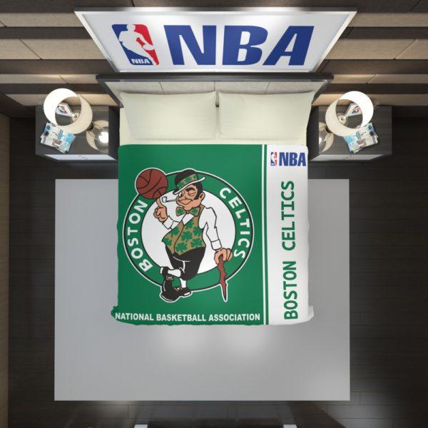 Boston Celtics NBA Basketball Duvet Cover 2