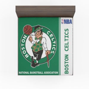 Boston Celtics NBA Basketball Fitted Sheet