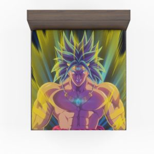 Broly Dragon Ball Japanese Anime Fitted Sheet