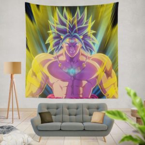 Broly Dragon Ball Japanese Anime Wall Hanging Tapestry