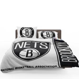 Brooklyn Nets NBA Basketball Bedding Set 1