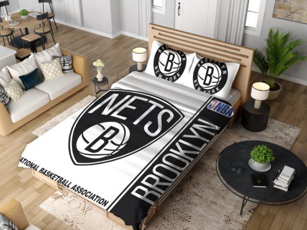 Brooklyn Nets NBA Basketball Bedding Set 4