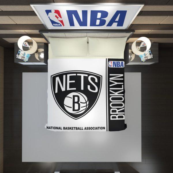 Brooklyn Nets NBA Basketball Duvet Cover 2